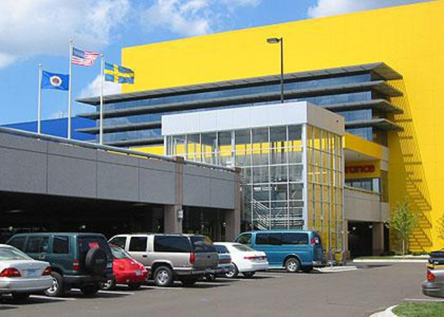 Ericksen roed ikea store parking ramp for Ikea call center careers